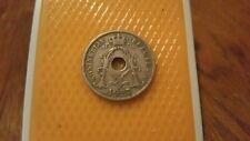 Belgium 1927 - 25 Centimes coin - King Albert I Koninkrijk Belgie.