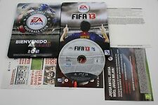 PLAY STATION 3 PS3 FIFA 13 EDICION F.C BARCELONA   COMPLETO PAL ESPAÑA