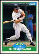 Keith Moreland, Padres #42 Score 1989 Baseball Card (C380)