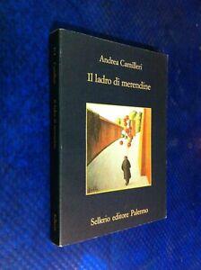 ANDREA CAMILLERI IL LADRO DI MERENDINE SELLERIO 374°LA MEMORIA 1996 PRIMA CSSTT2