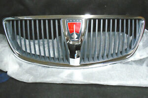 Genuine Rover 75 FACELIFT LATE FRONT RADIATOR GRILL ASSY DHB000390MMM 2004 -2006
