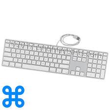APPLE WIRED KEYBOARD w/ NUMERIC KEYPAD/USB PORTS - QWERTY A1243 MB110