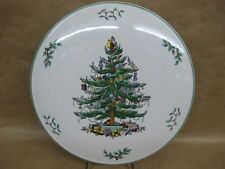 """Spode Christmas Tree Gateaux Plate / Cake Plate ~ 11 1/4"""" ~ Excellent Condition"""