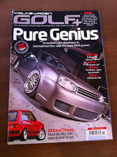 Volkswagen Golf + Magazine November 2008 16v Lupo, Scirocco, Mk1 Bike Carbs,TFSi