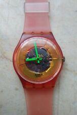 """orologio swatch STANDARD GENT modello """"MANGO DREAM"""" GR 105  anno 1990 USATO"""