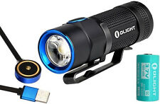 Olight S1R Baton Turbo S 900 Lumen Flashlight Kit w/ Battery & Magnetic Charger