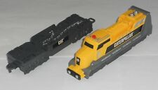 Toy State CAT Caterpillar Yellow & Grey Battery Operated Engine & Car