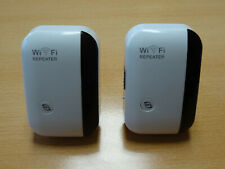 Wireless-N Wifi Repeater, 2er Set mit LAN-Anschluß
