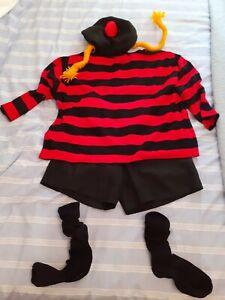 Adult Fancy Dress Minnie the Minx Costume Book Week Day Beano Dennis Menace