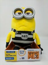 Despicable Me 3 Deluxe Plush Talking Minion Jail Time Tom