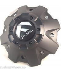 Fuel Offroad Custom Wheel Center Cap 1001-63B Cap M-447 5 & 6 Lug Flat BLK NEW