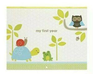Carter's Woodland Animals Gender Neutral First Year Baby Calendar NWT