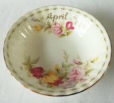 Royal Albert flor del mes de abril Sweet Pea Tazón de fuente