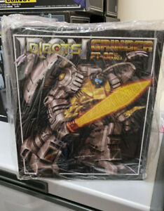 Perfect Fanstoys Ft-08 Grinder Ft-08 Grimlock Action Figure New Toy In Stock