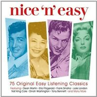 NICE 'N' EASY 3CD NEW THE SPANIELS/GENE VINCENT/PEGGY LEE/PAT BOONE/RAY CHARLES