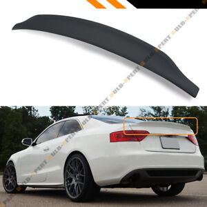 FOR 09-2017 AUDI A5 S5 RS CAT STYLE POLYURETHANE PU PRIMERED TRUNK SPOILER WING