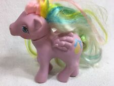 Vintage My Little Pony Curly Locks Pegasus Brush and Go 1984 G1 Hong Kong