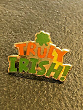 Hallmark Truly Irish With Clover Green And Orange St. Patrick's Day Lapel Pin