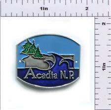 Hiking Staff Medallion Stocknagel-Acadia NP-Acadia Wave Graphic (AC-3)