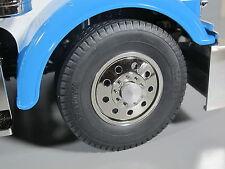 Alum Front & Rear Hubs Cover Wheel Nut Set Tamiya RC 1/14 King Hauler Globeliner