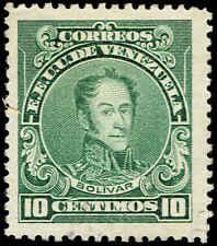 Scott # 272 - 1924 - ' Simon Bolivar '