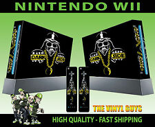 Nintendo Wii Autocollant Dark Side Darth Vader Décalque graphique Skin & 2 Pad
