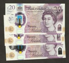 2020 England £20 Pounds First Polymer Released 20/02/2020 Uncirculated