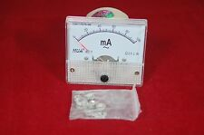 AC 100mA Analog Ammeter Panel AMP Current Meter 85L1 0-100mA  directly connected