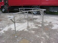STAINLESS STEEL RAILINGS, HAND RAIL, IDEAL NIGHTCLUB BAR ETC 8FT X 8FT X 1.1MTR