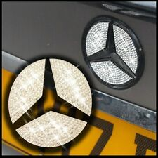 Crystal stone rear boot badge inserts emblème star autocollant mercedes benz e classe