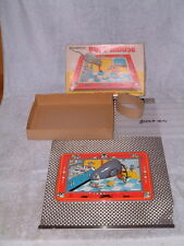 Tps Tin Clockwork/Mechanical Busy Mouse. Fully Working T.P.S. W/Original Box!
