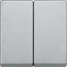 Wippe für Serienschalter, 433560, aluminium, merten