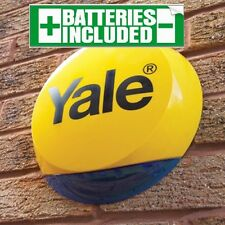Yale Smart Range 'SR' & Easy Fit LIVE Working SIREN ALARM BOX - Genuine NEW