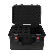 eLumen8 Rock Box Microphone Case Flightcase ABS Touring Band DJ Waterproof Heavy