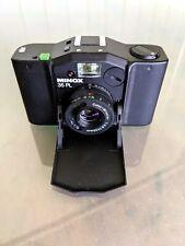 Minox 35PL 35mm Film Camera. Owners Manual. VG cond.