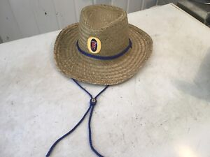 Fosters Straw Hat New