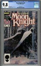 Moon Knight V2 #6 CGC 9.8 NM/MT WHITE PAGES