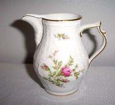 "ROSENTHAL CHINA CREAMER 4""   SANSSOUCI WHITE # 508562 CLASSIC ROSE COLLEC"
