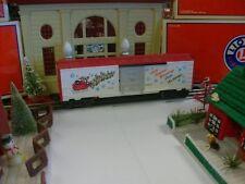 "LIONEL TRAINS FOR CHRISTMAS  19908 ""CHRISTMAS 1989"" BOX CAR - VERY NICE"