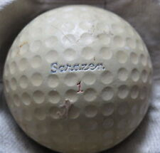 "(1) GENE SARAZEN SIGNATURE LOGO GOLF BALL ( ""SQUIRE"" CAD GEER COVER CIR 1948) #1"