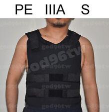 New PE Bullet Proof Vest/Jacket Body Armor NIJ Level IIIA 3A 38 Layers S