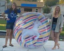 Riesen Aufblasbare wasserball Unicorn 150cm+ infl. **rapid valve** beach ball