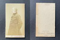 Le docteur Armand Trousseau, médecin et homme politique, circa 1865 vintage cdv