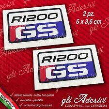 2 Adesivi Stickers BMW GS R 1200 30 Years Anniversary GS 2