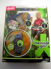 NEW Barbie I Message Girls Doll with Xtra Outfit Cell Phone Mattel (HKRC3-722)