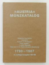 Austria Münzkatalog 1790-1987 Belgische Insurrektion 14. Auflage