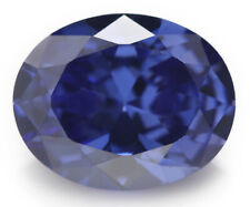 Natural Oval Blue Sapphire 7.01ct 10x12mm Faceted Cut AAAAA VVS Loose Gemstone