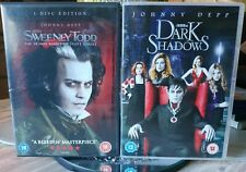 Dark Shadows & Sweeney Todd - Depp / Burton DVD Double Bill