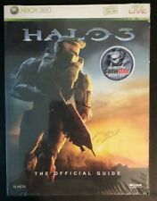 Halo 3 Official Game Guide Factory Sealed Xbox 360 with Poster