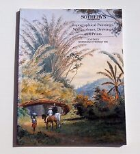 SOTHEBY'S CATALOGUE VENTE LONDON 1995 TOPOGRAPHICAL PAINTINGS WATERCOLOURS